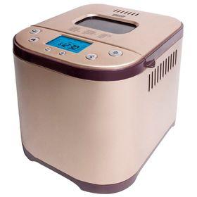 Хлебопечка Mystery MBM-1210, 710 Вт, 15 программ, 1 кг, ускоренная выпечка, коричневая