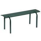 Скамья садовая без спинки «Скамейка №1», 101 × 34,5 × 42 см, двухместная, зелёная