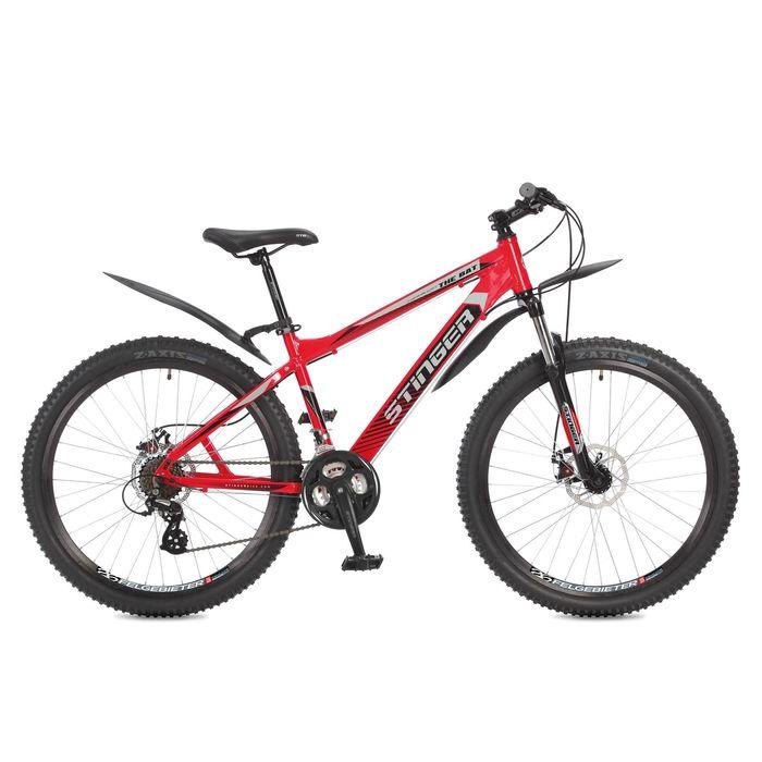 """Велосипед 26"""" Stinger The BAT, 2017, цвет черный, размер 16"""""""