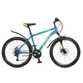 "Велосипед 26"" Stinger Element D, 2017, цвет синий, размер 20"""