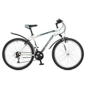 "Велосипед 26"" Stinger Element, 2017, цвет белый, размер 18"""