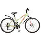 """Велосипед 26"""" Stinger Latina D, 2017, цвет зелёный, размер 17"""""""
