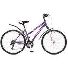 """Велосипед 26"""" Stinger Latina, 2017, цвет фиолетовый, размер 15"""""""