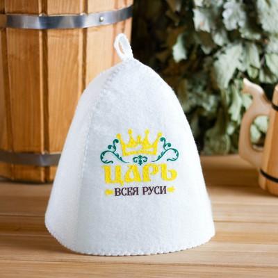 "Bath cap with print ""Tsar of all Rus"""