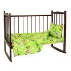 Детское постельное бельё (3 предмета), цвет  салатовый 08202-05