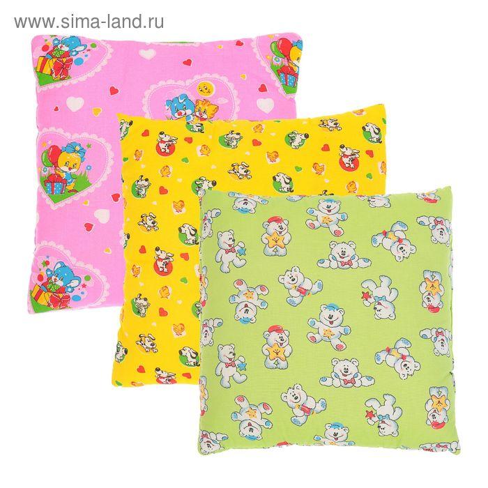 Подушка, размер 40*40 см, цвет МИКС 08305
