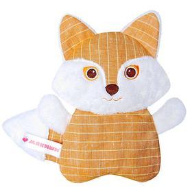 Развивающая мягкая игрушка с вишнёвыми косточками «Доктор Мякиш-Лиса»