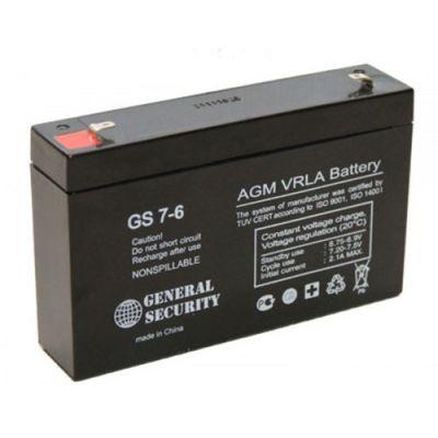 Батарея аккумуляторная General Security GS 7-6