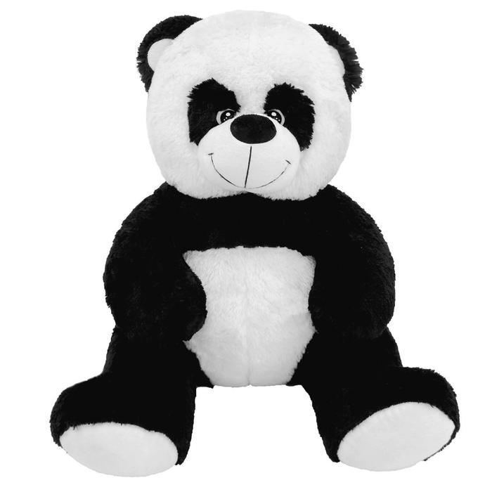 """Мягкая игрушка """"Мишка Кузя-Панда"""", цвет чёрно-белый, 80 см"""