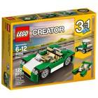 Конструктор «Зелёный кабриолет», 122 детали