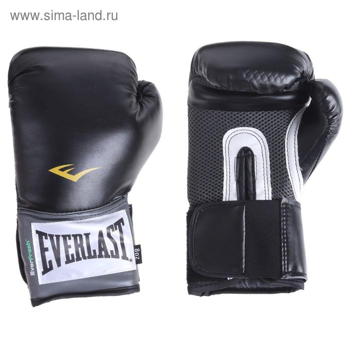 Перчатки тренировочные PU Pro Style Anti-MB, 8 унций, цвет чёрный
