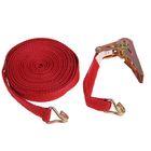 Стяжка груза с механизмом 110 мм, ширина ленты 25 мм, нагрузка 200/400 кг, длина 8 м