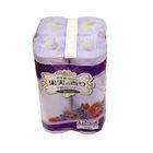 Туалетная бумага двухслойная, аромат ягод, 30 м IDESHIGYO , 12 рулонов