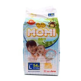 MOMI diapers size L (9-14 kg), 54 pcs.