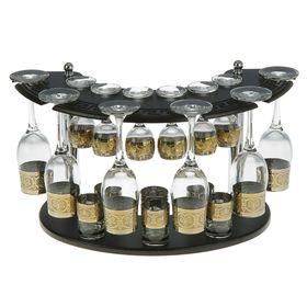 Мини-бар 18 предметов шампанское, флоренция, темный 200/55/50 мл