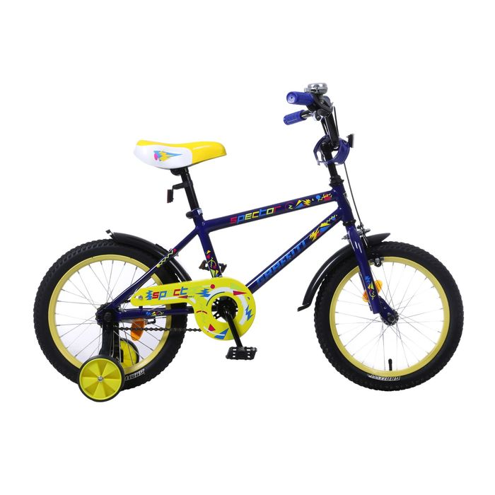 "Велосипед 16"" GRAFFITI Spector, 2017, цвет синий"