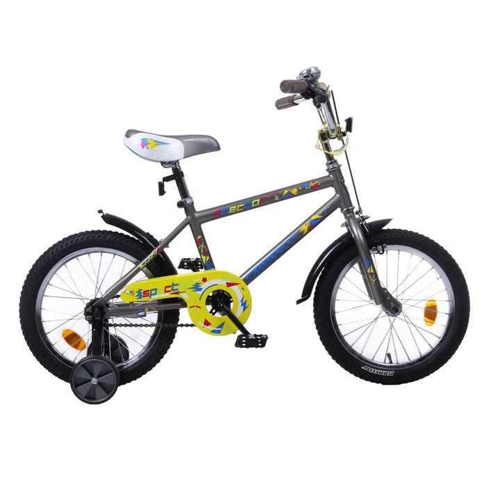 "Велосипед 16"" GRAFFITI Spector, 2017, цвет серый"