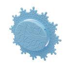 Держатель для аксессуаров на присоске, цвет голубой