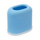 Подставка для мелочей в ванную комнату, цвет голубой