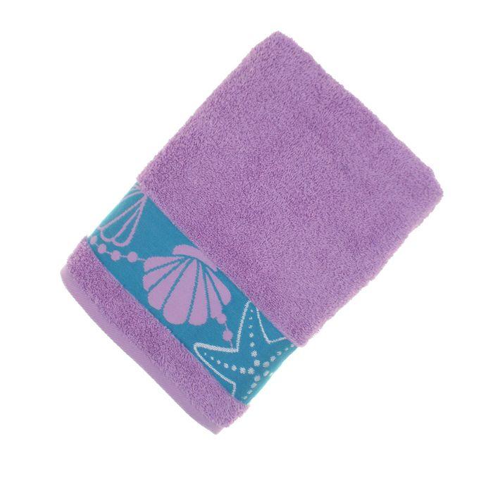 Полотенце махровое «Feria» цвет сиреневый, 50Х90 см, 460г/м