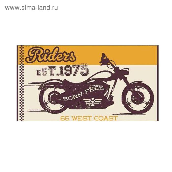Полотенце махровое Moto ПЦ-2602-2746 цв. 10000, 50Х90 см, 460г/м, хл100%