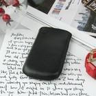 Чехол Time для телефона, с ремешком, размер 3, 46x110x14 мм, цвет чёрный
