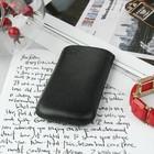 Чехол Time для телефона, с ремешком, размер 4 , 53x113x13 мм , цвет чёрный