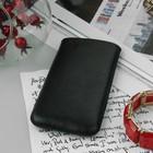 Чехол Time для телефона, с ремешком, размер 7, цвет чёрный