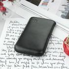 Чехол Time для телефона, с ремешком, размер 19, 52x108x13 мм, цвет чёрный