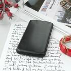 Чехол Time для телефона, с ремешком, размер 28, цвет чёрный