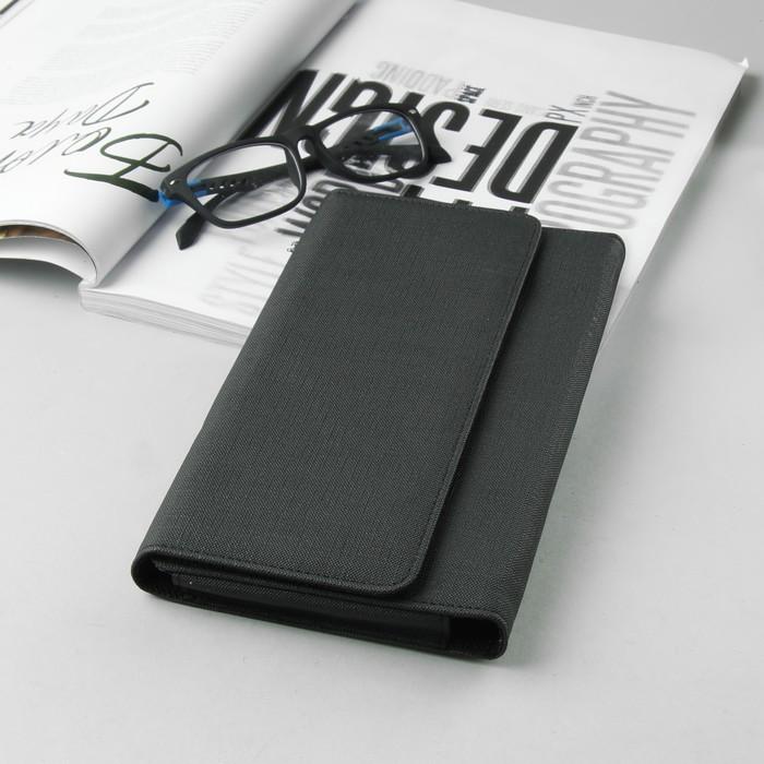 """Чехол """"Norton"""" для планшетов и навигатора, 7"""", на кнопках, внутренние габариты 210х120х20 мм, цвет чёрный"""
