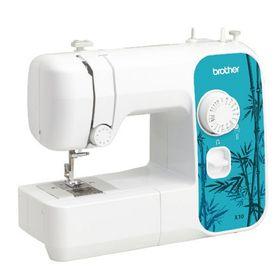 Швейная машина Brother X-10, 17 операций, обметочная, потайная, эластичная строчка, белый Ош