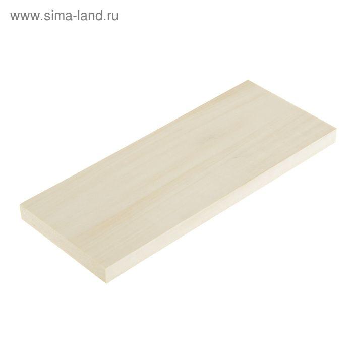 Доска для резьбы, липовая 100х250х15 мм