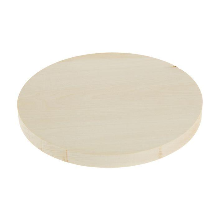Доска круглая, липа 25 см - фото 7425772