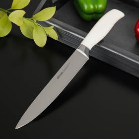 Нож кухонный NADOBA BLANCA разделочный, лезвие: 20 см