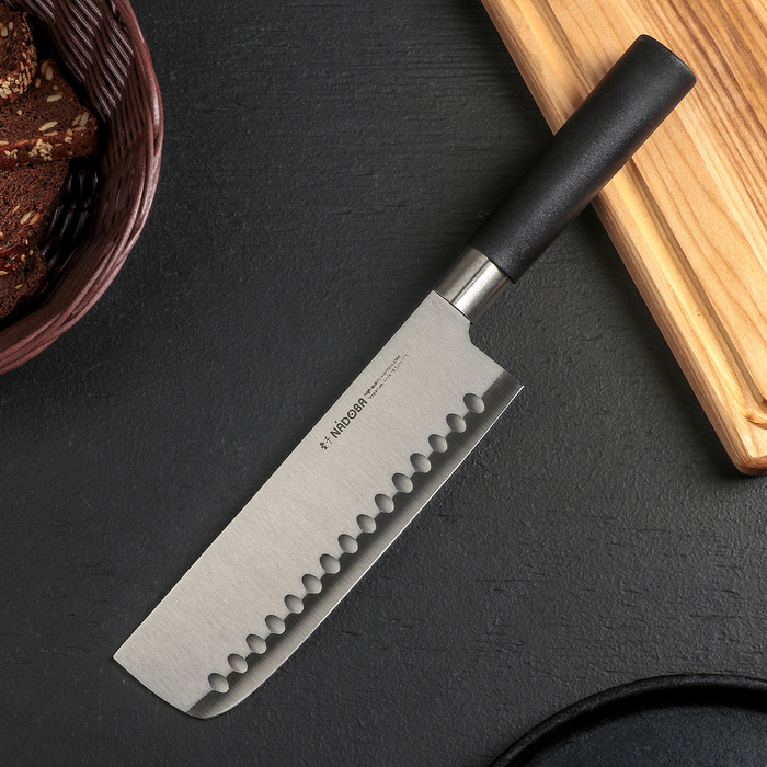 Нож кухонный Nadoba Keiko Тэппанъяки, лезвие 18,5 см