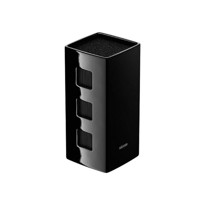 Универсальный керамический блок для ножей Esta, цвет чёрный