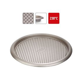 Форма круглая для пирога/пиццы, стальная, антипригарная, 34х2,5 см RÁDA