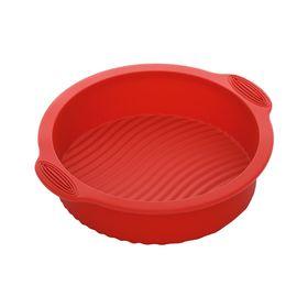 Форма для выпечки круглая, силиконовая, 28x25x6 см MÍLA