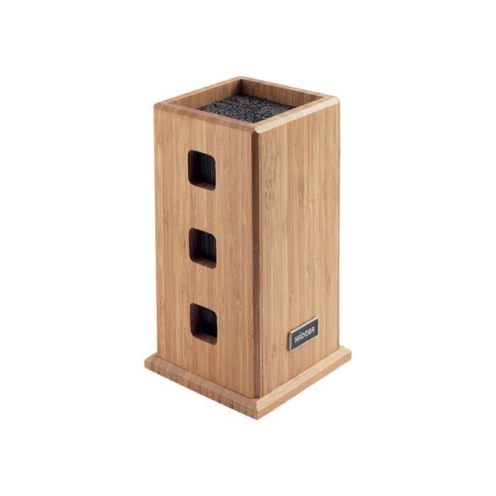 Универсальный блок для ножей, бамбук ESTA
