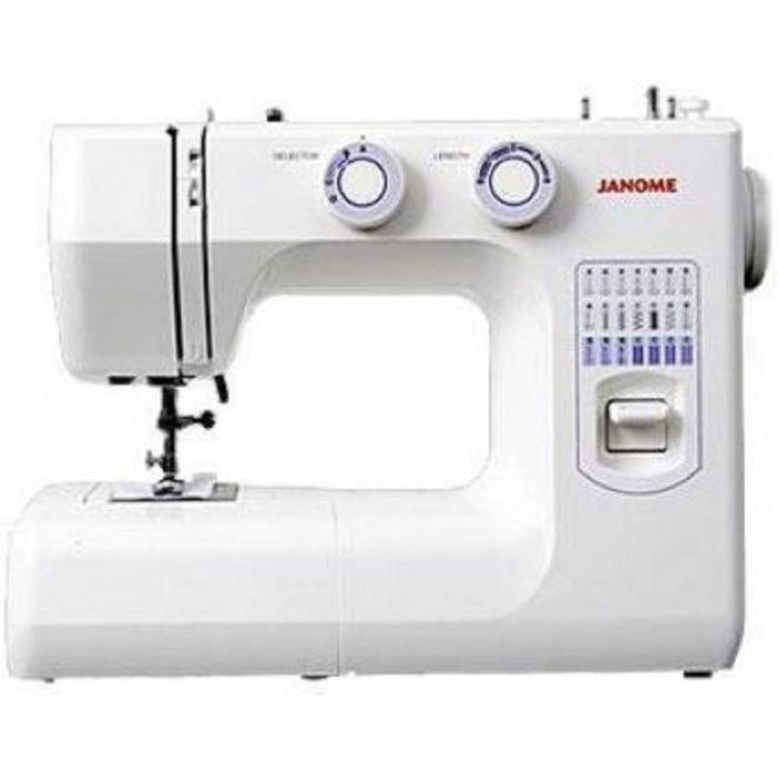 Швейная машина Janome 943-05S, 4 операции, потайная строчка, эластичная строчка