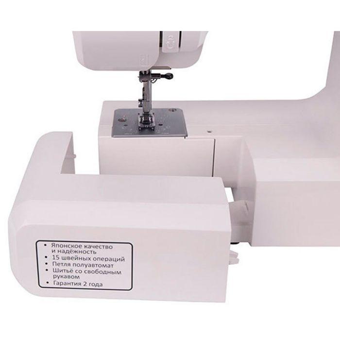 Швейная машина Janome Grape 2016, 15 операций, обметочная, потайная, эластичная строчка