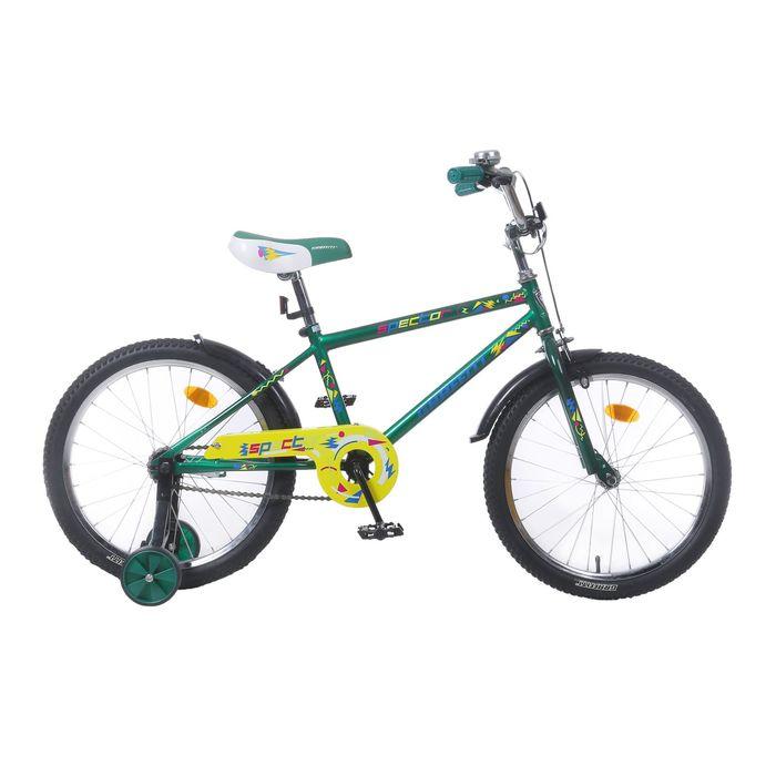 """Велосипед 20"""" GRAFFITI Spector, 2017, цвет зелёный"""