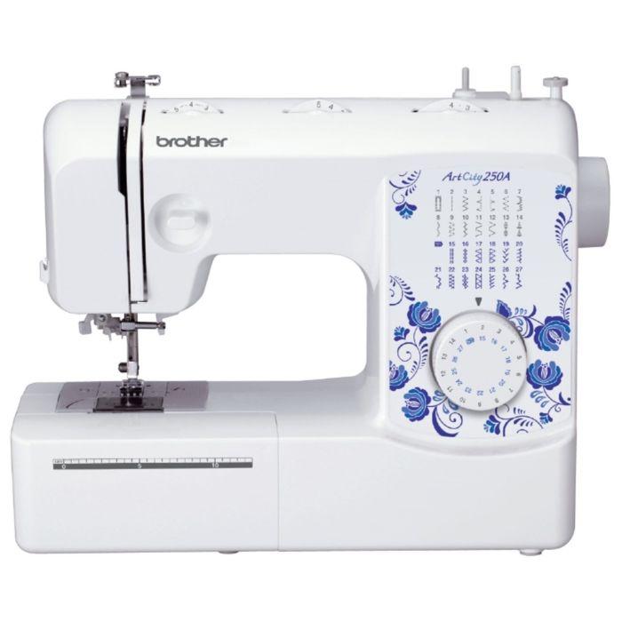 Швейная машина Brother ArtCity 250А, 27 операций, обметочная, потайная, эластичная строчка