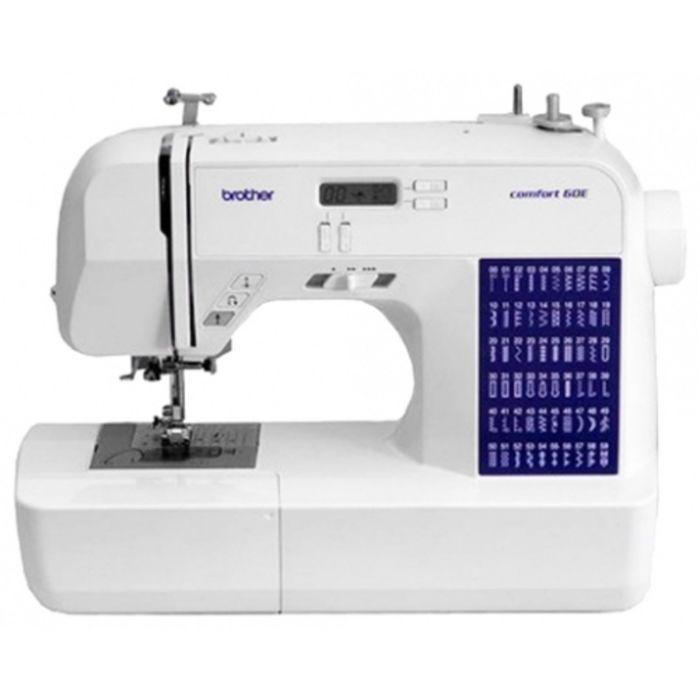 Швейная машина Brother Comfort 60E, 60 операций, обметочная, потайная, эластичная строчка