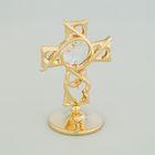 Сувенир «Крест», с кристаллом Сваровски