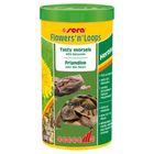 Корм Sera Flowers'n'Loops для растительноядных рептилий, 1000 мл, 140 г