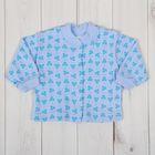 Кофточка на кнопках, рост 80 см, цвет голубой 0502ИПг80_М