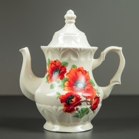Чайник заварочный 'Монарх', 0,5 л, мак, микс Ош