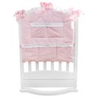 """Карман в кроватку """"Три медвежонка"""" розовый 60*60 см, цвет розовый 5046"""
